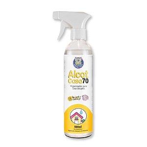Higienizador de Ambientes para Casa de Cães Gatos Alcat Casa 70 500ml CatMyPet