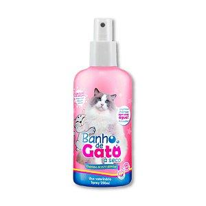 Banho a Seco para Gatos Spray Puro Glamour 250ml CatMyPet