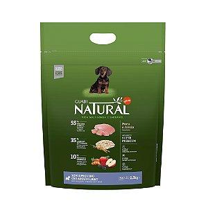 Ração Natural Light Peru e Aveia para Cães Mini e Pequeno Porte - Guabi Natural