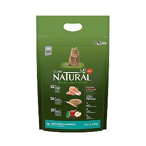 Ração para Gato Castrado Salmão e Cevada - Guabi Natural