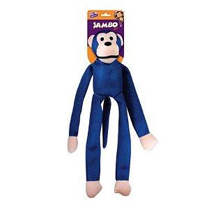 Brinquedo para Cachorro Macaco Mesh Azul G Jambo Pet