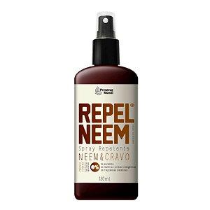 Repelente Natural para Humanos com Neem e Cravo 180 ml Preserva Mundi