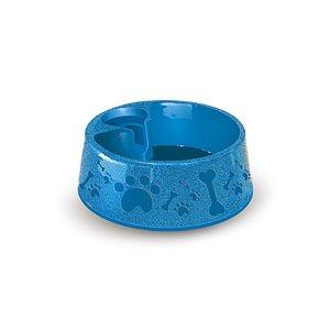 Bebedouro para Cachorros 700ml Azul Furacão Pet