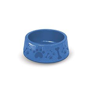 Pote de Comida para Cachorro 850ml Azul Paris Furacão Pet