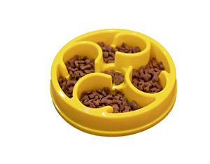 Pote Comedouro Funcional para Cães Nível Intermediário Amarelo Órien Pet