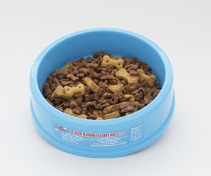 Pote Comedouro para Cães Pequenos Azul  Órien Pet