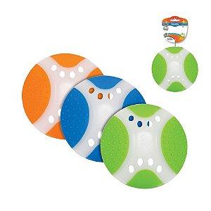 Brinquedo Disco para Cachorro Duradisco Azul Branco Chalesco