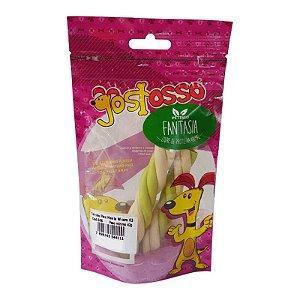 Osso Natural para Cachorro Palito Torcido Menta 2un Bf Foods