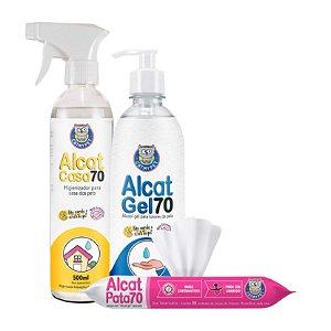 Kit Higiene Natural Alcat Catmypet