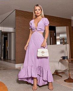 Vestido Lorena - Lavanda