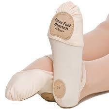 SAPATILHA MEIA PONTA GLOVE FOOT EM LONA COM STRETCH, SOLA DIVIDIDA
