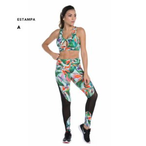 LEGGING FIT ESTAMPADA SUPPLEX