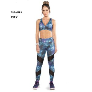 Legging fresh estampada gel fit