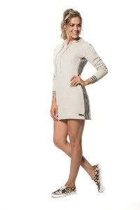 Vestido glam plush