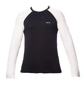 T-shirt Manga Longa Masculina dry fit