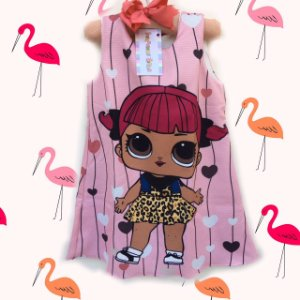Vestido Boneca Lol Surprise Cherry