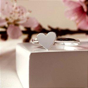 Anel Colecionável de Coração em Prata 925