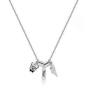 Colar anjinho Personalizado em prata 925