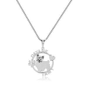 Colar personalizado com Pet (a escolher) em prata 925