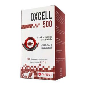 Suplemento Avert Oxcell 500 30 Cápsulas