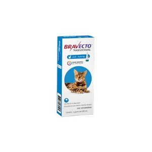 Bravecto Transdermal Gatos de 2,8 a 6,25 kg 250 mg, pipeta (1 un)