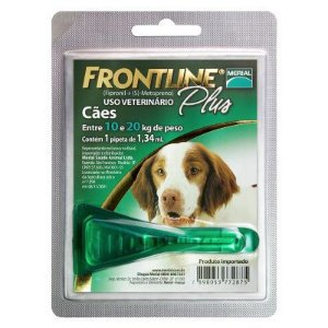 Frontline Plus cães de 10 Kg a 20Kg, pipeta (1 un)