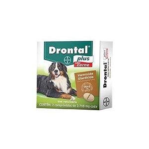 Vermífugo Drontal Cães Plus 35kg (2 un)