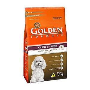 Golden Cão Carne & Arroz Cães de Pequeno Porte Adultos 1,0kg