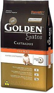 Golden Gatos Castrados Salmão 1,0Kg