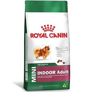 Ração para Cães Adultos Raças Mini Royal Canin Indoor 1kg