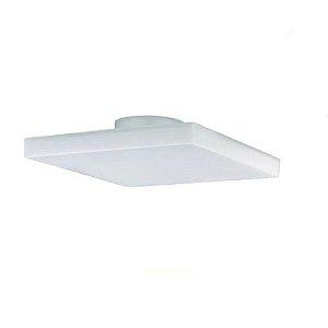 Lum Sobrepor Frameless 32 w Quadrada 6500k Bivolt Luz Branca