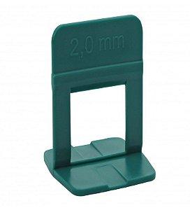 Nivela Piso Base Estreito 2,0mm Verde