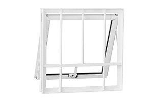 Vitro Max Alumínio Smart 60x60 Branco Com Grade Vidro  Boreal - CRV