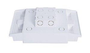 CAIXA DE EMBUTIR PAINEL LED 18W 21X33 5CM PLASLED