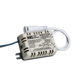 LED DRIVER DE CORRENTE COM CONECTOR DE 8 A 25W MARGIRIUS