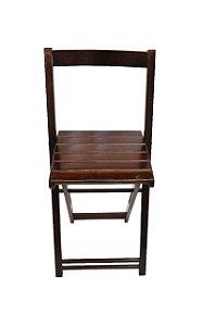 Cadeira Dobrável Imbuia