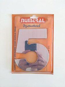 NÚMERO ESPELHADO 5 ESPELHADO - NUMERAL