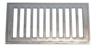 Grelha C/p Grelha 15x30 Aluminio Polido