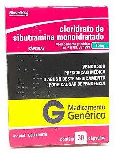 Sibutramina Generico 20mg 30 Comp