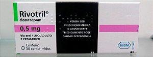 2 Caixas- RIVOTRIL  0,5