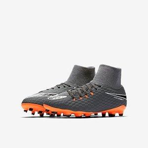 Chuteira Infantil Nike Hypervenom Phantom 3 Academy Df Fg 31293043ce4