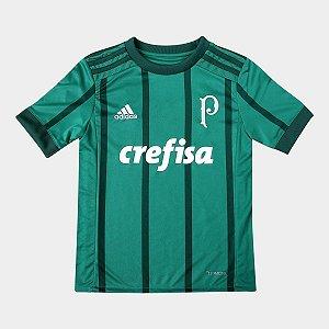 da4670b66a2 Camisa Infantil Palmeiras 2017 adidas 1 Original zoom