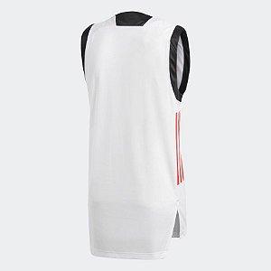 430b0e5a38 Camisa Flamengo Regata Basquete Branca Origina zoom