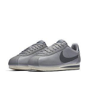 8777f3bcde Tênis Feminino Nike Classic Cortez Leather Cinza - Footlet