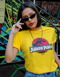 Camiseta Jurassic Punk