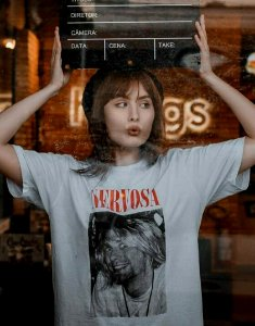 Camiseta Nervosa Kurt