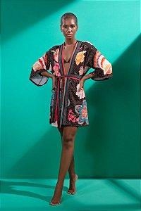 Kimono Rastros Marítimos - Silvia Schaefer