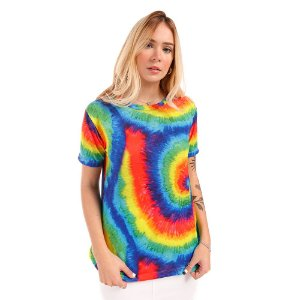 Camiseta Tie Dye Espiral - Silvia Schaefer