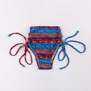 Calcinha Hot Pant Estampada Atacama - Silvia Schaefer
