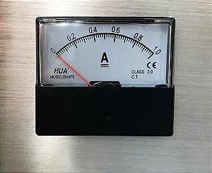 AMPERÍMETRO ANALÓGICO DC 0-1.0A